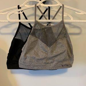 2 XOXO sports bras size medium